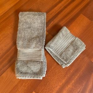 RL Ralph Lauren Hand Towel & Washcloth set
